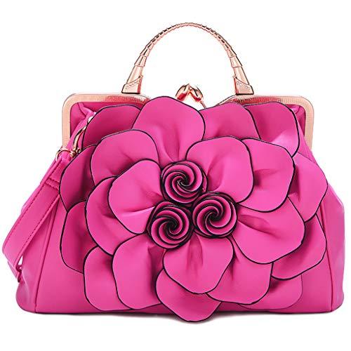 Per Donna Casual Tracolla Staccabile Fashion Capienza A Grey2 Flower Borsa Crossbody PpwqT7q