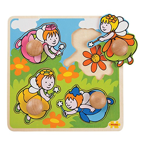 y First Peg Puzzle Fairy (Bigjigs Toys)