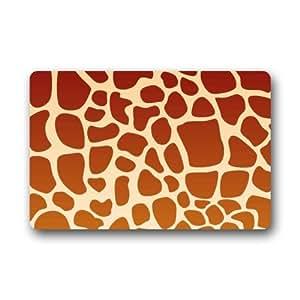 "Unique Animals Theme Indoor or Outdoor Doormat -23.6""(L) x 15.7""(W),3/16"" thickness"