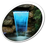 Tetra Pond 26596 Waterfall Filter 12'' With LED Colorchanging Light With Remote 19765