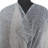 Indian Home Decor Vintage Dupatta Recycled Crafted Fabric Chiffon Blend Curtain Drape Women Neck Wrap Veil Hijab