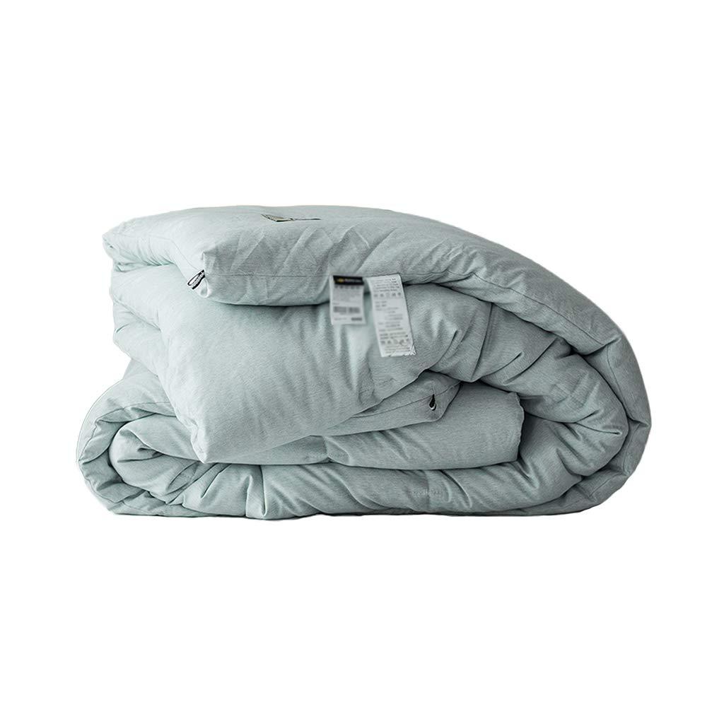 カラーキルト、厚めの保温暖かい冷たい保護単一の人々エアコンキルト学生ドミトリールーム多機能ホテルのキルト (色 : D, サイズ さいず : 150*200cm-2kg) B07L2ZRFYY D 150*200cm-2kg