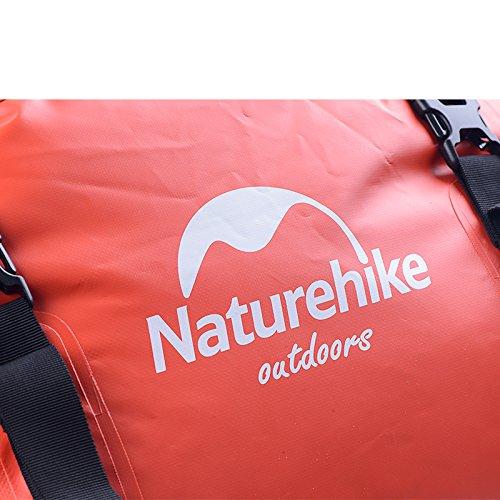 red 40l Bolsa Al Naturehike Camping Impermeable De 120l Con Correa Aire Libre Hombro Red Seca Rafting Natación BOxHwaq