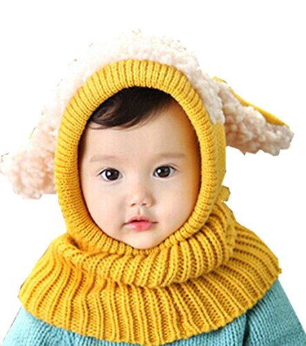 Toddler Kids Short Ribs Costumes And (TAORE Baby Girls Boys Winter Hat Scarf Earflap Hood Scarves Skull Caps)