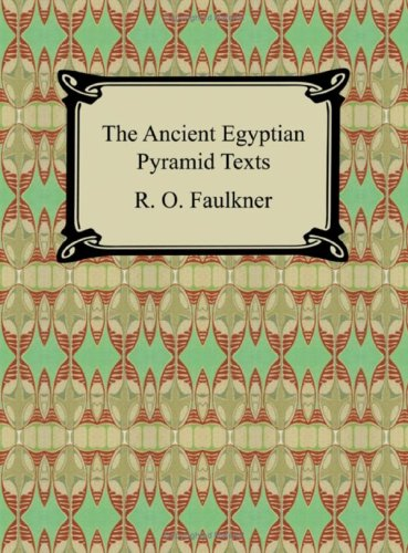 The Ancient Egyptian Pyramid Texts