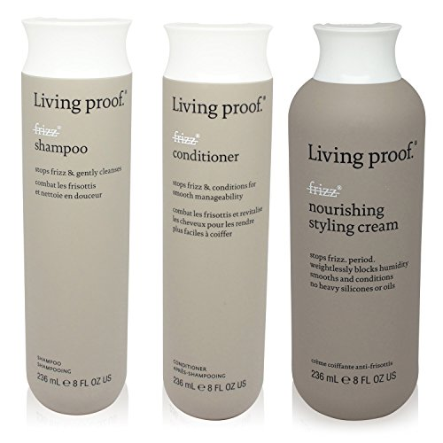 Living Proof – No Frizz – 3 Item Value Pack – 1 Shampo