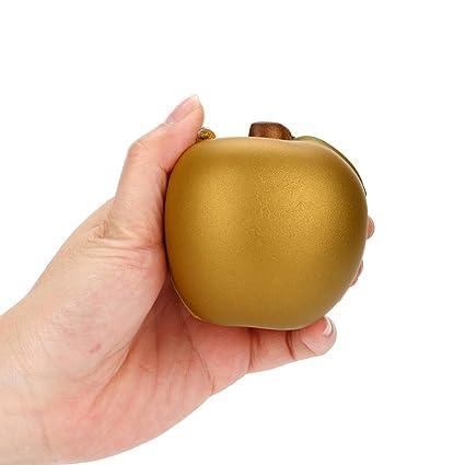 Kanpola_Toys - Juguete para exprimir lentamente, Kanpola 2018, con aroma a manzana, colección Jumbo de juguetes, esponjosas de poliuretano ...