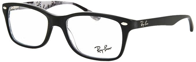 Ray-Ban 5228, Lunettes de Soleil Femme, Noir (Negro), 50