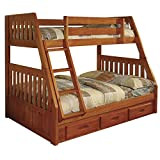 American Furniture Classics 2118-TFH Bunk Bed, Twin/Full For Sale