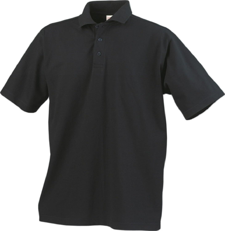 Super Saver 3 Pack, Short Sleeve Pique Polo Shirt- Black, White or Navy-Sizes (XS-XXXL)