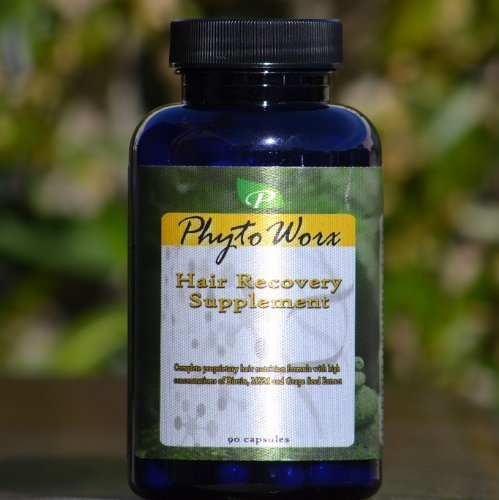 Phytoworx Hair Growth Supplement | Premium Vegan Hair Grow Vitamins Against Hair Loss | For Men and Women