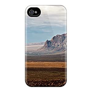 Tpu MtWilliams Shockproof Scratcheproof Red Rock Canyon Nevada Hard Case Cover For Iphone 4/4s