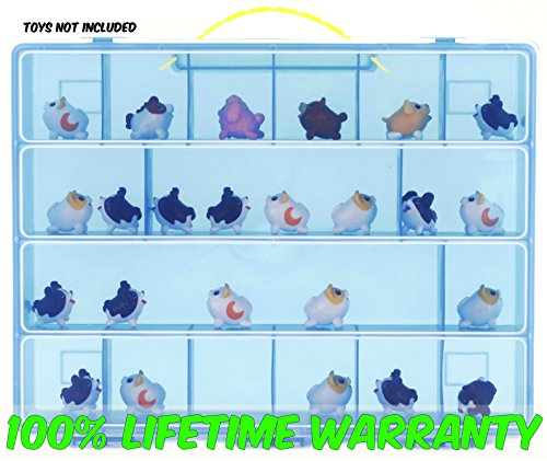 Life Made Better Toy Storage Organizer. Fits Up To 15 Chubbies Toys. Compatible With Chubby Puppies TM Mini Figures And Accessories