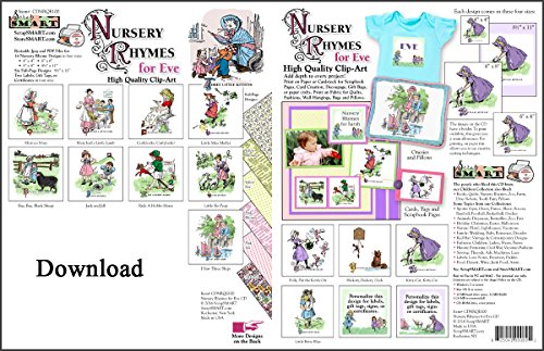 Nursery Rhymes Crafts - ScrapSMART - Nursery Rhymes for Eve - Software Collection - Jpeg & PDF files for Mac [Download]