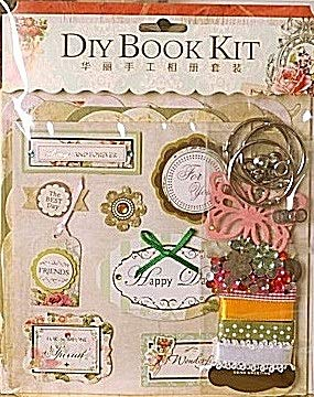 Chipboard Kit - Scrapbooking Kit Vintage Themed Family Scrapbook Embellishment for crafts With Bullet Journal Stencil