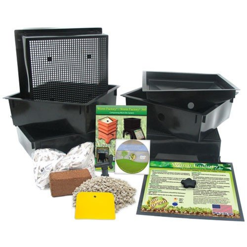ackberry Recommends Nature's Footprint Worm Factory Standard 4 Tray ()
