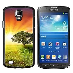 "For Samsung Galaxy S4 Active i9295 , S-type Puesta de sol Beautiful Nature 4"" - Arte & diseño plástico duro Fundas Cover Cubre Hard Case Cover"