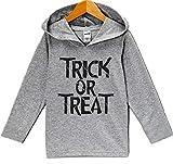 Custom Party Shop Trick or Treat Halloween Hoodie 5T Grey