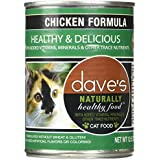 Dave's Naturally Healthy Chicken Formula for Cats, 12.5 oz Can (Case of 12)