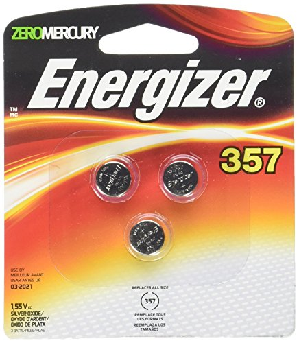 Energizer Holdings EVE357BPZ3 357BPZ-3 General Purpose Battery 1.5v Dc Silver Battery