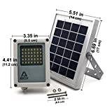 Alpha 180X Solar Flagpole Light for Flag Pole