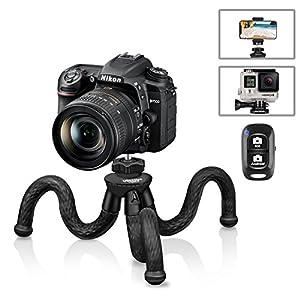 51w0NjxaEIL. SS300  - Flexible Camera Tripod, UBeesize 12 Inch Mini Tripod Stand GoPro/Action Cam/DSLR Canon Nikon Sony, Smartphone Tripod…