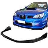 2006 - 2007 Impreza WRX STI V-Spec Polyurethane Front Bumper Lip