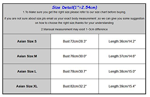 1fb4153533f0a1 Jual Staron Women Sexy Tight Slim Sleeveless Short Tees Tank Crop ...