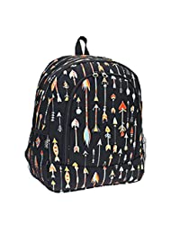 Ever Moda Arrow Aztec Girls Boys School Camping Work Travel Backpack Jp Black