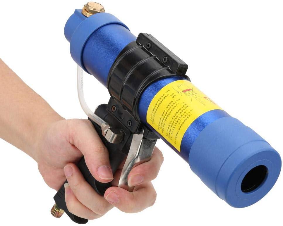 230 x 300 mm Q3 Pistolet /à colle pneumatique en verre avec pistolet en silicone vitesse r/églable 310 ml