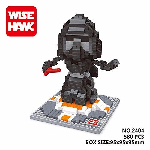 WH 2404 580 Pcs. Action Figures DIY Assemble Master Model Building Blocks Toy Present Gift (Han Solo Costume Diy)