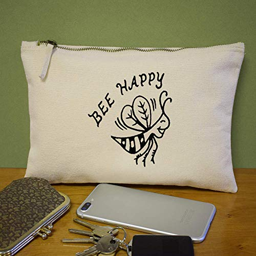 Azeeda Embrague Case cl00008623 'bee Bolso Happy' De Accesorios zr7gzR