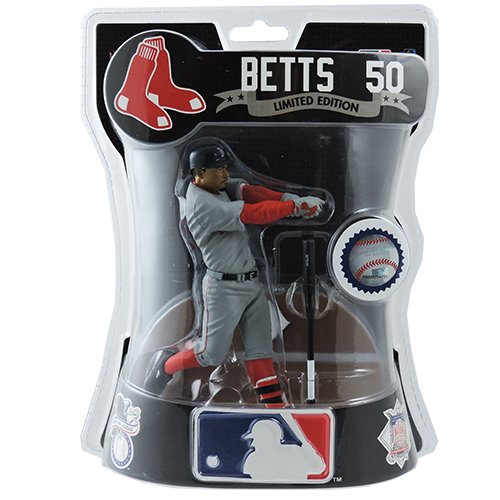 "Mookie Betts Boston Red Sox's 6"" 2017 Exlusive Figure Road Uniform Road Jersey Variation Rookie"