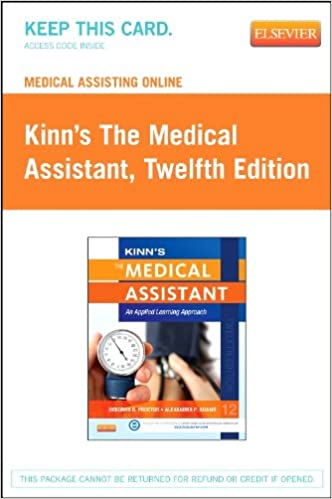 Medical assisting online for kinns the medical assistant access medical assisting online for kinns the medical assistant access code an applied learning approach 12e 12th edition fandeluxe Gallery