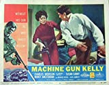 Machine Gun Kelly 1958 Authentic, Original Charles Bronson Gangster 11x14 Lobby Card #6 Movie Poster