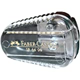 Faber-Castell 186600 - taille-crayons (Manual pencil sharpener, Vert, Transparent)