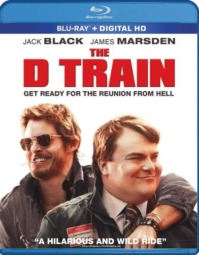 Blu-ray : The D Train (Widescreen, Digitally Mastered in HD, Subtitled, Sensormatic)