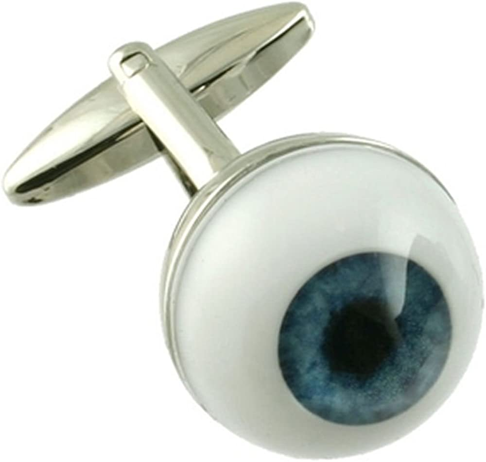 Boutons de manchettes Boutons de manchette~Opticien Optom/étriste Eye Ball manchette Nouveaut/é Pochette Cadeau S/électionner
