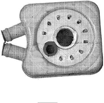 BEHR HELLA SERVICE 8MO 376 726-221  Radiador de aceite, aceite motor
