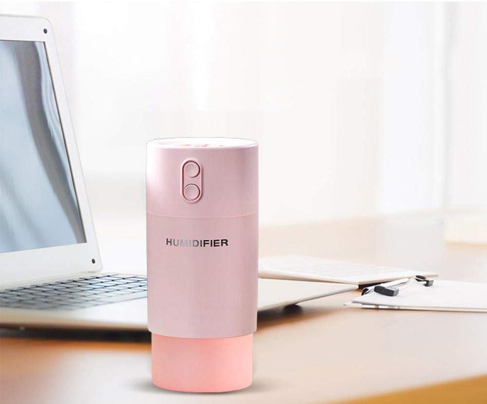 TaoRan Mini humidificador USB 400 ml Rosa Copo de Nieve Colorido ...