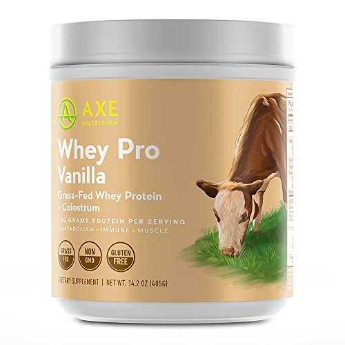 Axe Nutritions Vanilla Grass Fed Protein product image