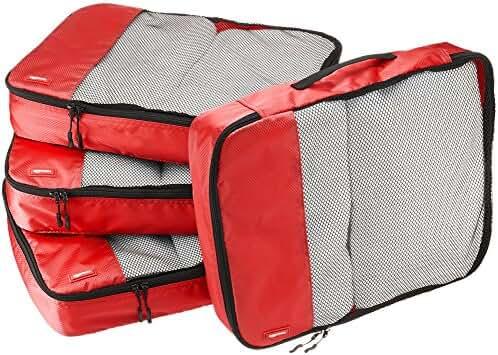 AmazonBasics 4-Piece Large Packing Cube Set