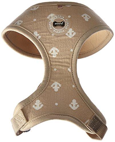 Puppia PARA-HA1531-BE-M Beige Ernest Harness A Pet-Vest-Harnesses, Medium