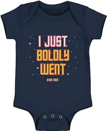 Star Trek - I Just Boldly Went Infant Snapsuit T-Shirt
