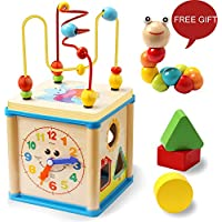 LuaLua Baby Toys for 1 2 3 Year Old Educational Wooden...