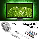 Megulla Bias TV Lighting Kit Ambient TV Lighting Precut USB LED RGB Strip