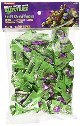 [TMNT Teenage Mutant Ninja Turtles Sweet Cream Candies] (Nickelodeon Teenage Mutant Ninja Turtles Treat Bags)