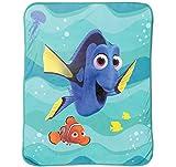 Disney/Pixar Finding Dory Stingray Friends Silk Touch Plush Throw, 46'' x 60 ''