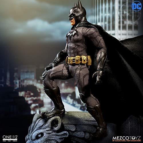 Mezco ONE-12 Collective DC Sovereign Knight Batman Action Figure