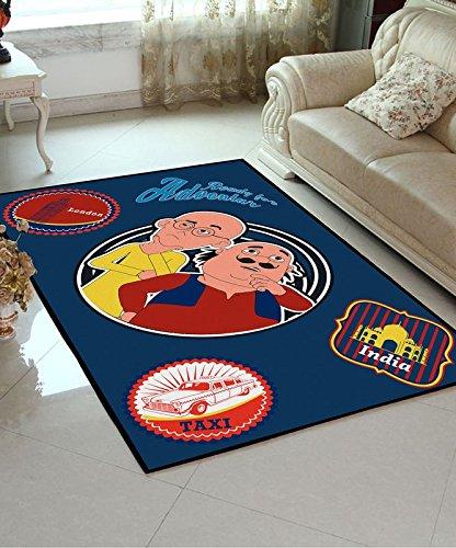 Buy Motu Patlu Athom Trendz Carpet 3ft X 5ft Online At Low Prices In